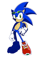 Sonic - Way Past Cool by DrCaptPepperGirl