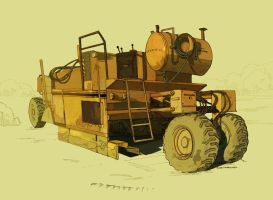 My lawn mower by Sheharzad-Arshad