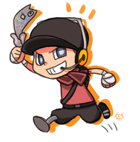 team fortress2 scout by yhe306