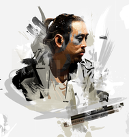 Joe Hahn (Motion in Grunge) by Aseo