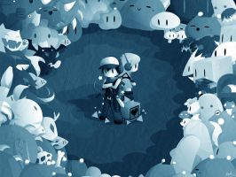 Cave Story Wallpaper by watermeloons