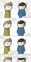 101 Ways to Make a Vulcan Laugh: 002 by TheVeggieSalad