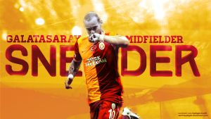 Wesley Sneijder Wallpaper by SemihAydogdu