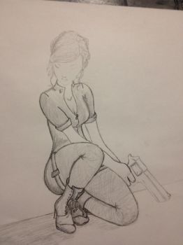 Unfinished Sketch by WhoDreamsWithoutRest