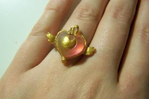 Sailor Moon Super S Ring by littlemooglet