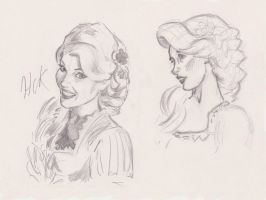 Sketchsheet Rapunzel by artist2point5
