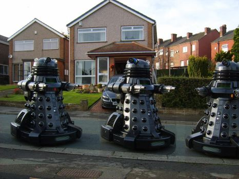 Dalek Storm Trick or treat by Dalekstorm