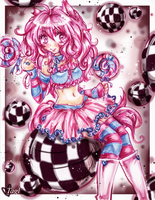 Pink Kitty Girl by tagl