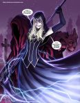Death Vigil by DarkerEve