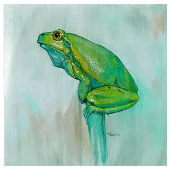 Tree Frog by popChar