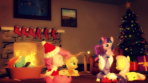 A warm Christmas by StormyScratch