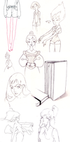 Sketches #1 by Effi-illustrations