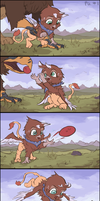 Little Gryphy #01 - FCW Short Story by AssasinMonkey