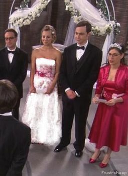 Sheldon and Penny - Wedding by Frust-sheep