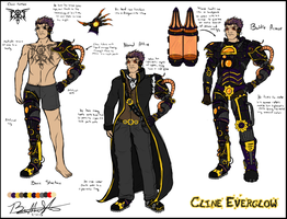 Concept Sketch Cline Everglow By Neffertity by TinkerSoldier