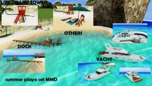 mmd beach set accessories by aittel