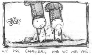 we are cannibals by boobookittyfuck