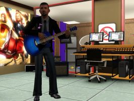 sims 3: in my recording studio by ownerfate