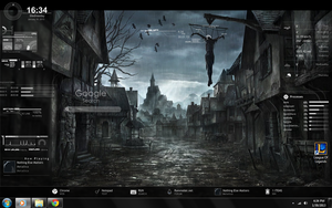 Rainmeter - Fade to black.. by lovervenom