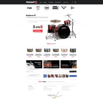 PercussionPros Store by marcinczaja