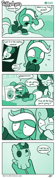 Silly Lyra - Right Round by Dori-to