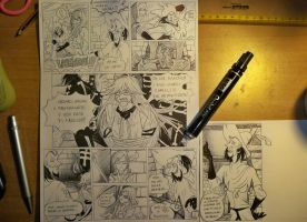 comix: grell at  court of miracles!!! by axelfolletto