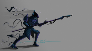 Shadow Soldier by ironbacteria