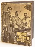 GTA 5 PS3 WoodBox Front Side by WoodBoxEdition
