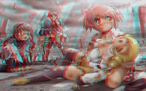 Image 3D Conversion Rouge Cyan Anaglyphe by Fan2Relief3D