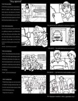 Storyboard comercial by chavatore