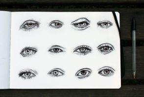 Eyes by KlarEm