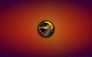 Wallpaper - Mortal Kombat Logo by Kalangozilla