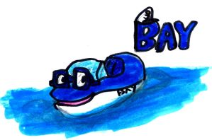 Bay the Bliue Boat by SonicClone