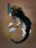 Elven Morgul Wolf Room Guardian by AnyaBoz
