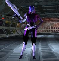 Quarian from Mass Effect by Chup-at-Cabra