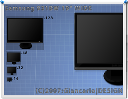 "Samsung 931BW 19"" WIDE by Gigiani"