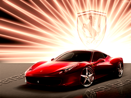 458 Italia In The Light by romscuderia