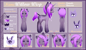 Commission for Starberry Lemonade - Willow Wisp by Minigini