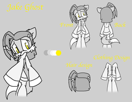 Jake Ghost Reference sheet by SHADOWFAN996