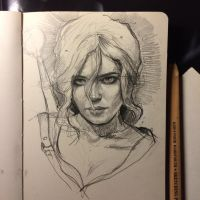 Ciri by MaryRiotJane