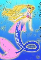 Mermaid Sailor Moon by LadyIlona1984