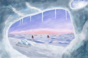 20120811 DA-Speedpaint Weekly Challenge Arctic by ludwig-a