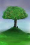 The Tree on Turtle Hill by Cookie-Splinters