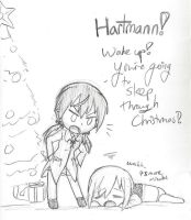 Sleeping Through Christmas by FrostheartIsSiamese