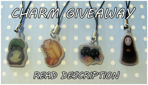 Phone Charm Giveaway by WanNyan