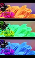 Funky Flower and Friend by picworth1000wrds