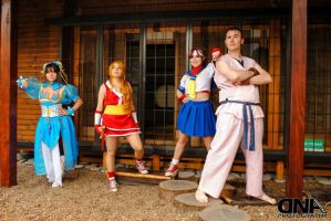 Street fighters team by Mikycosplay