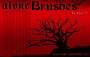 alone brush by Rozairo