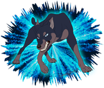 Maurus the Dobermann by Zerwolf