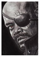 The Avengers - Nick Fury by acjub